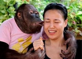 Kiss On Cheek Greeting